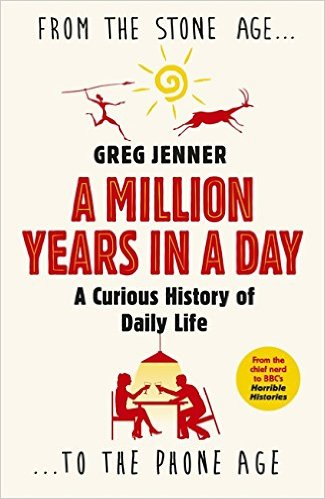 Paperback cover A Million Years